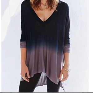 Pins and Needles Oversized Ombré Tunic Size M